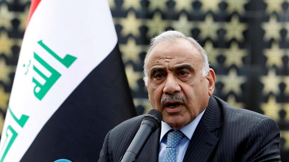Dimite Adel Abdel Mahdi en Irak