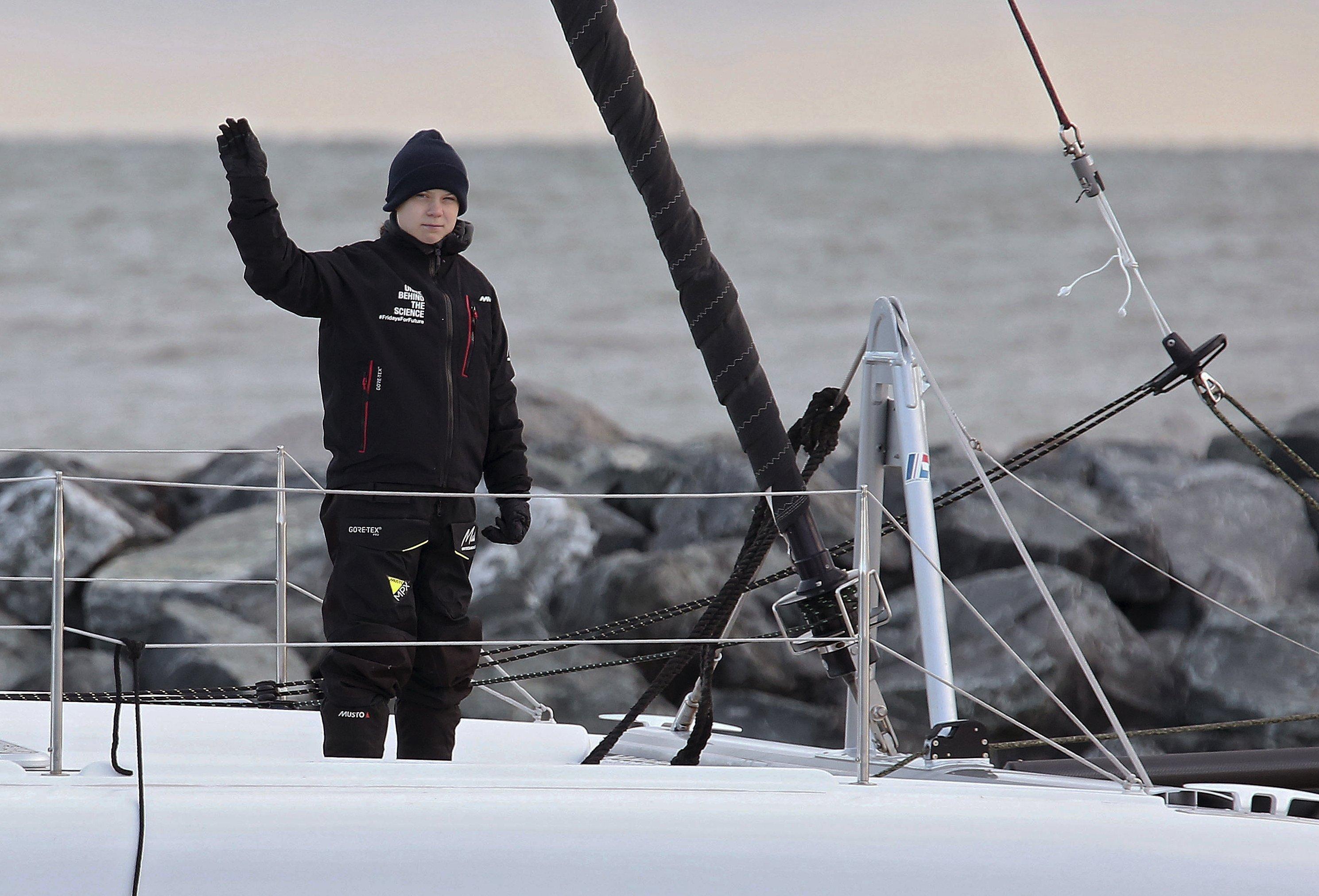"""La explicación de un marino profesional: """"Así consume Greta Thunberg combustible, así contamina esa estafa con patas"""""""