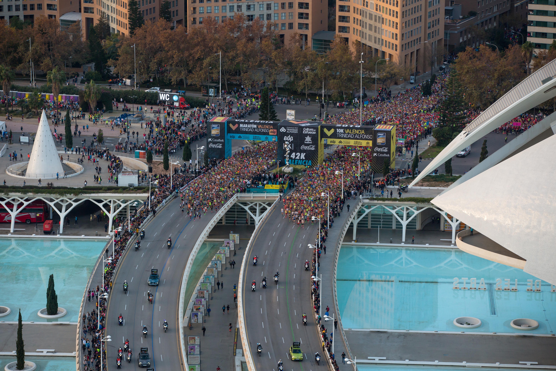 El Maratón de València pulveriza sus récords y ya es el sexto más rápido del mundo