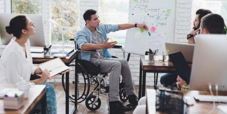 Sólo una de cada cuatro personas con discapacidad tiene trabajo