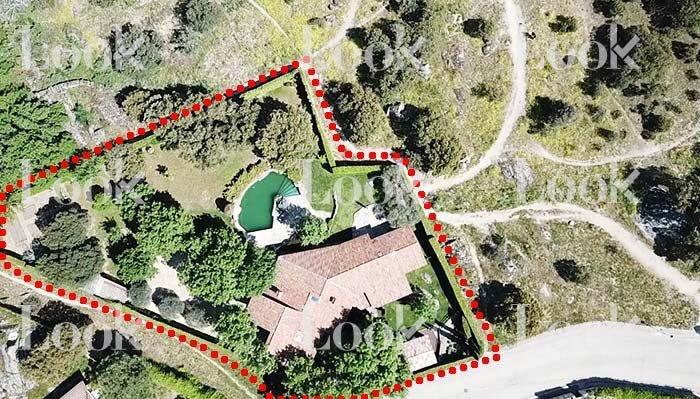 Vista aérea de la mansión Iglesias-Montero