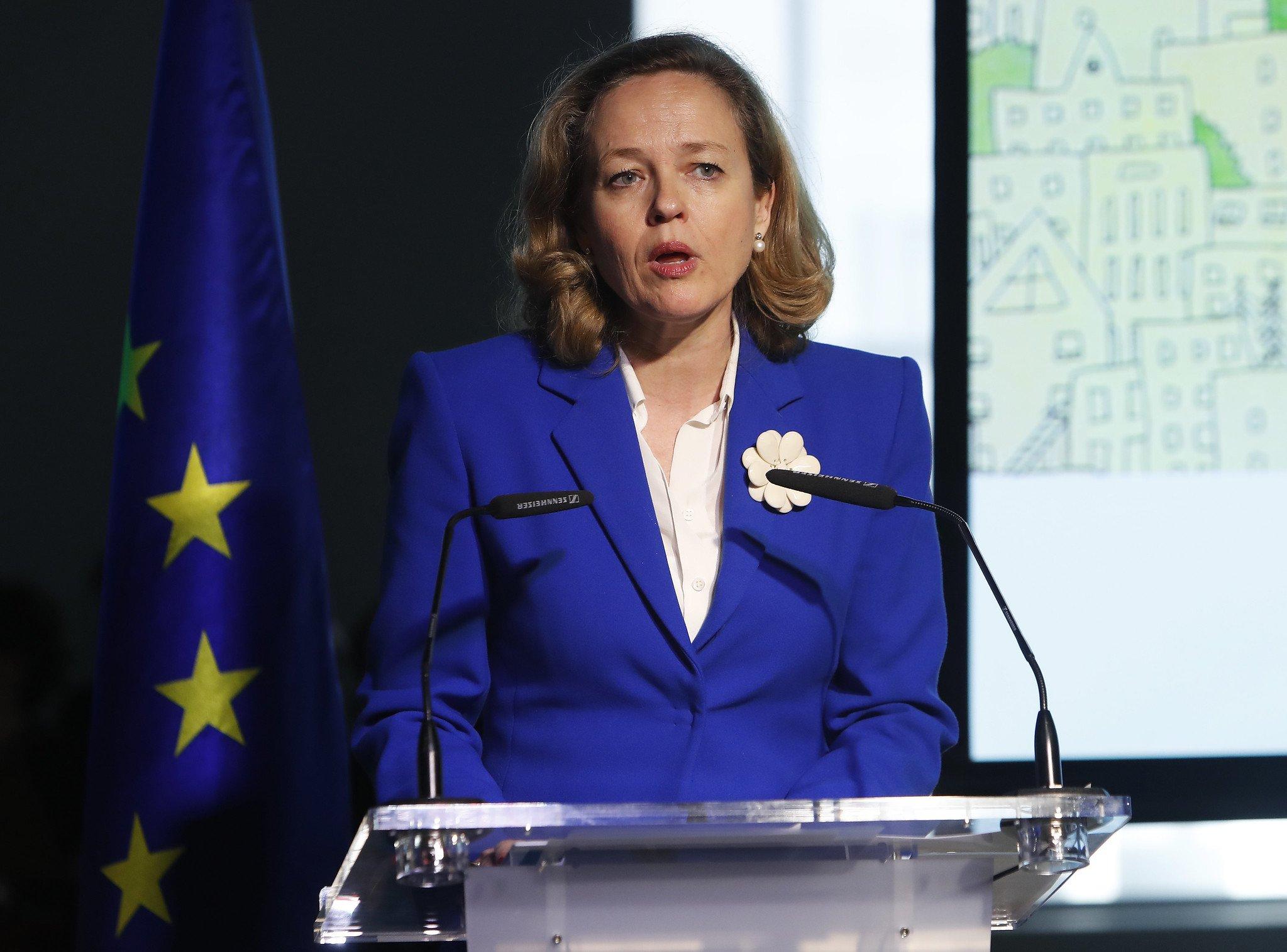 Nadia Calviño se opone a las tres medidas de Pablo Iglesias.