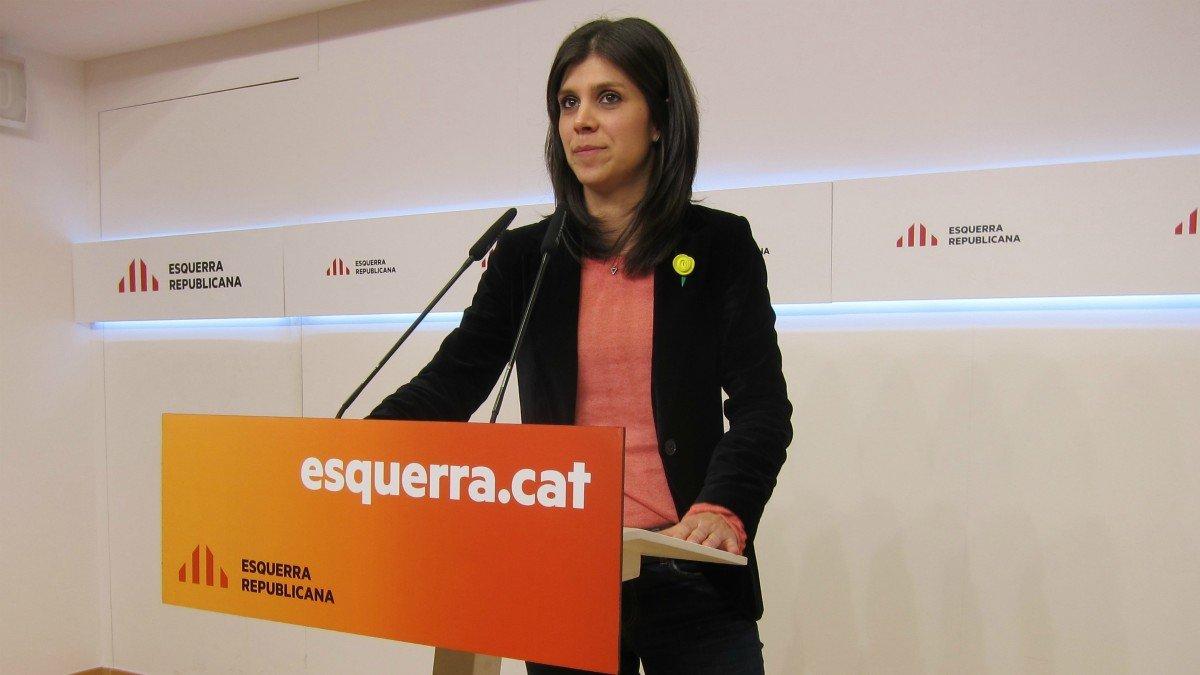 Portavoz de ERC, Marta Vilalta