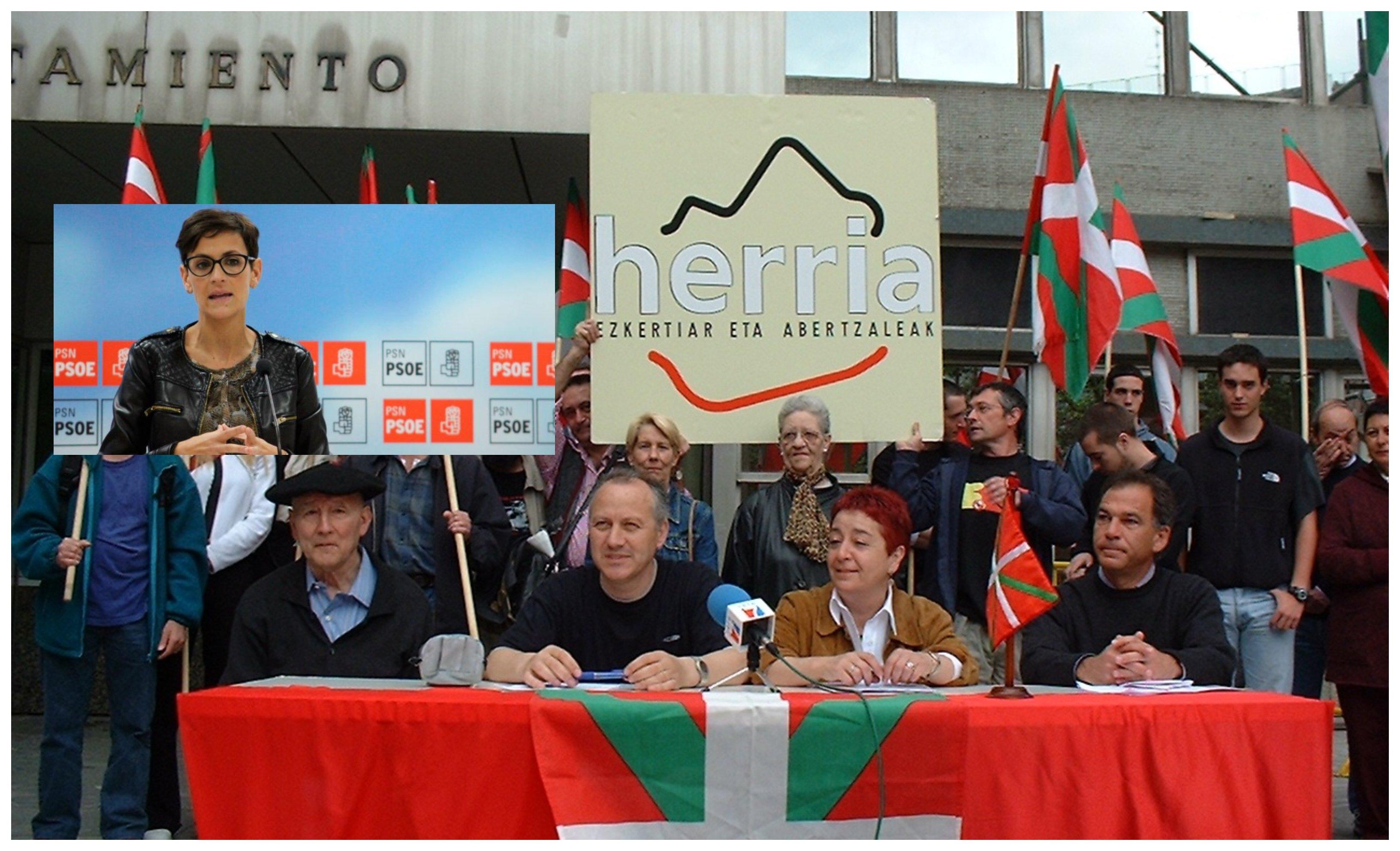 El abertzalismo crece en Navarra bajo la Presidencia de la socialista Chivite