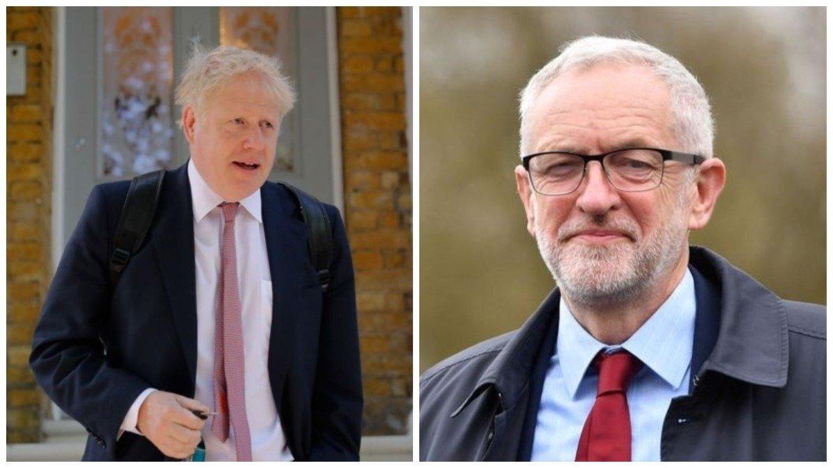 Encuestas en Reino Unido: Johnson obtendría el 42,8% de los votos frente al 33,1% de Jeremy Corbyn