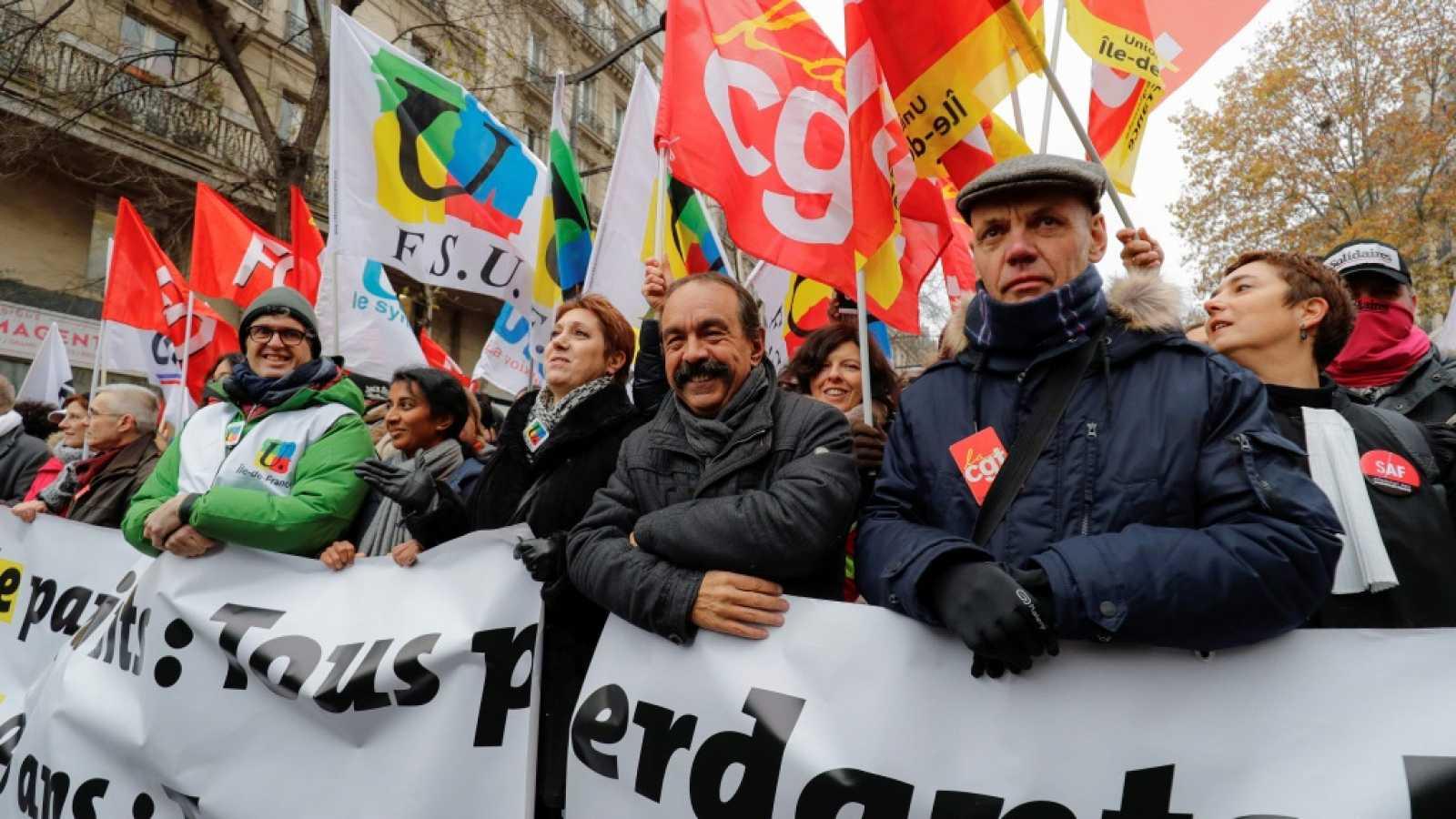 Francia. Para cobrar la pensión completa habrá que jubilarse a los 64