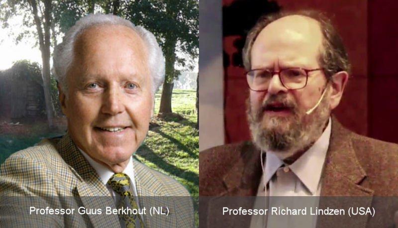 Los profesores Berkhout y Lindzen están entre los científicos que niegan la emergencia climática