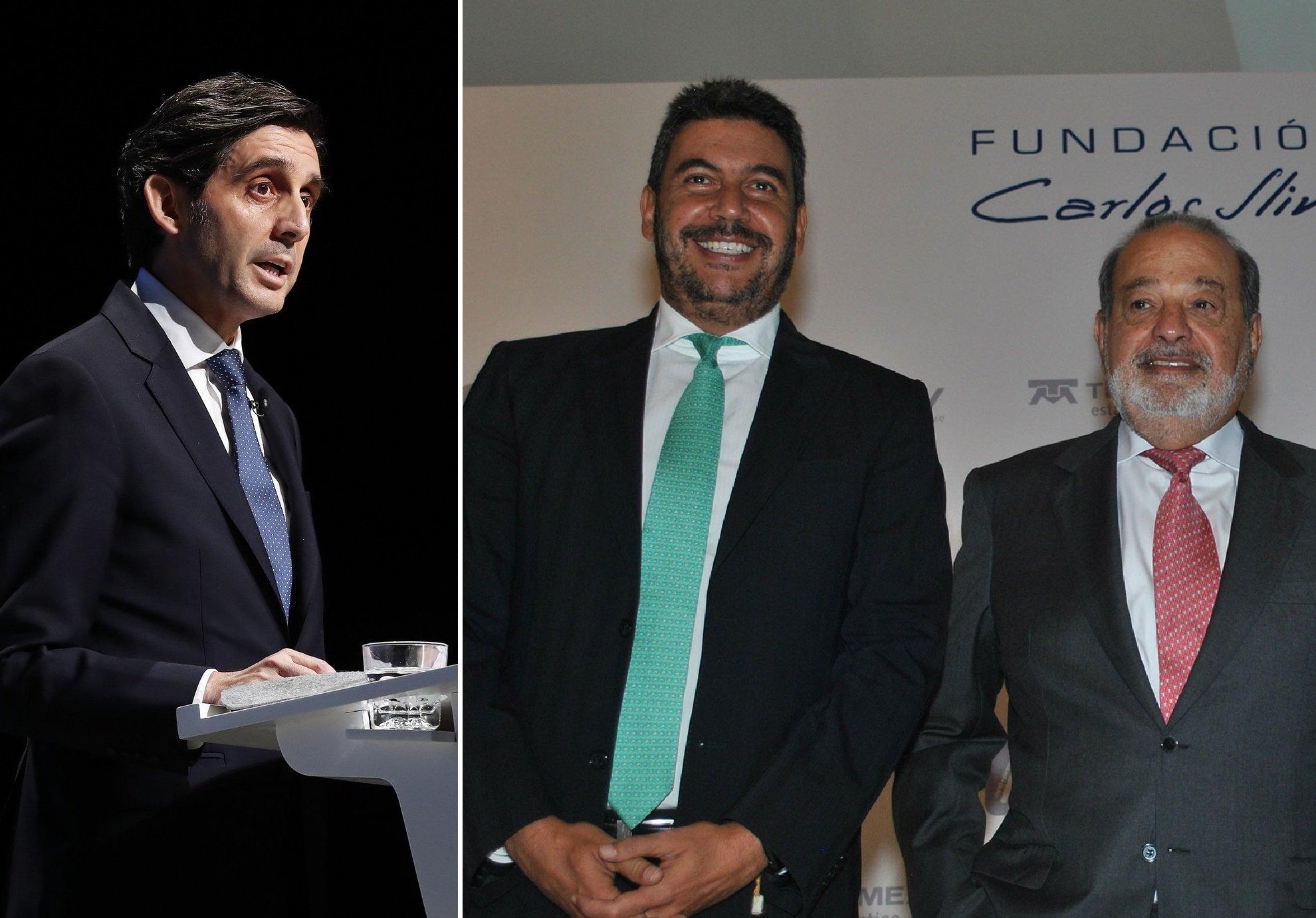 José María Álvarez-Pallete se entiende a la perfección con Arturo Elías Ayub, yerno de Carlos Slim