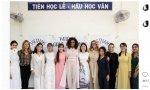 Michelle Obama en Vietnam, donde las redes celebraron su estilismo