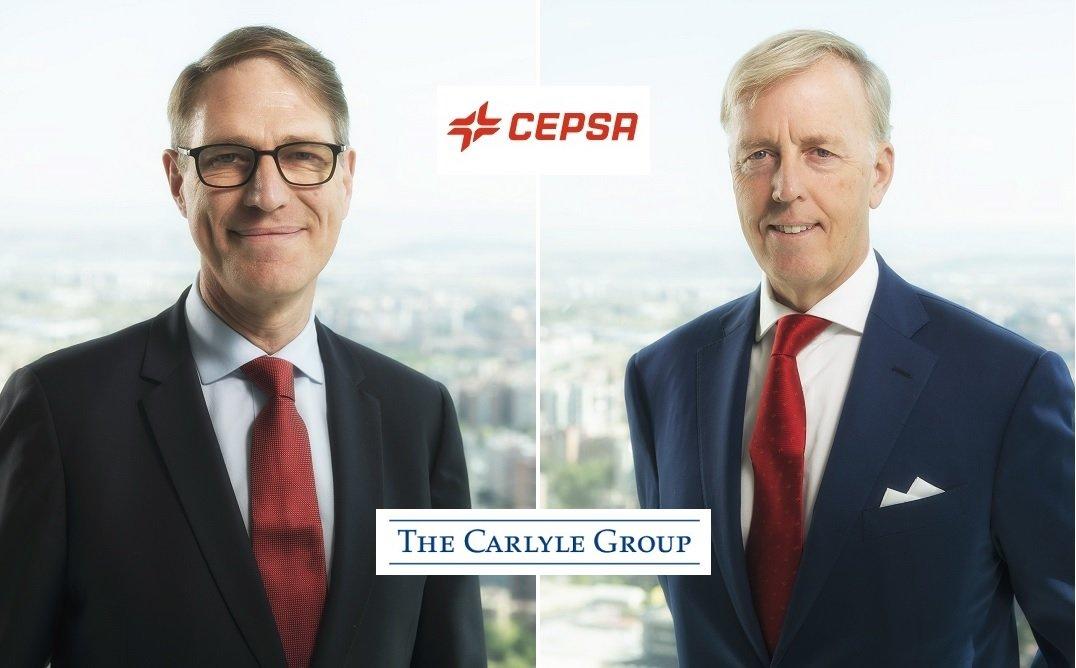 Philippe Boisseau y Marcel Van Poecke, CEO y vicepresidente de Cepsa, son los hombres de Carlyle para el troceo de la compañía