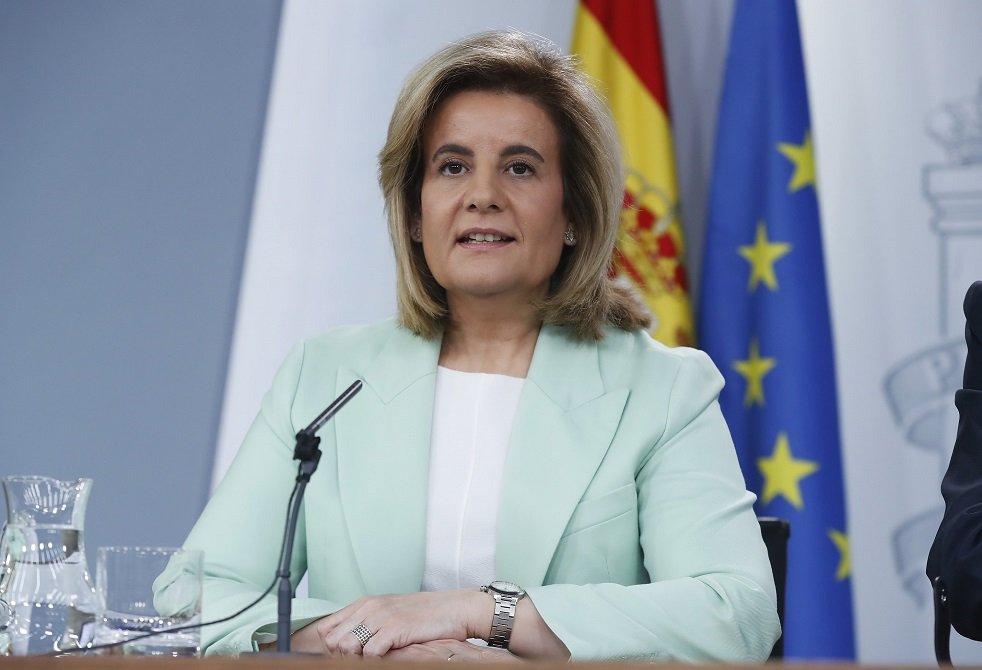 La exministra Fátima Báñez apoyó a Soraya Sáenz de Santamaría en las últimas primarias del PP