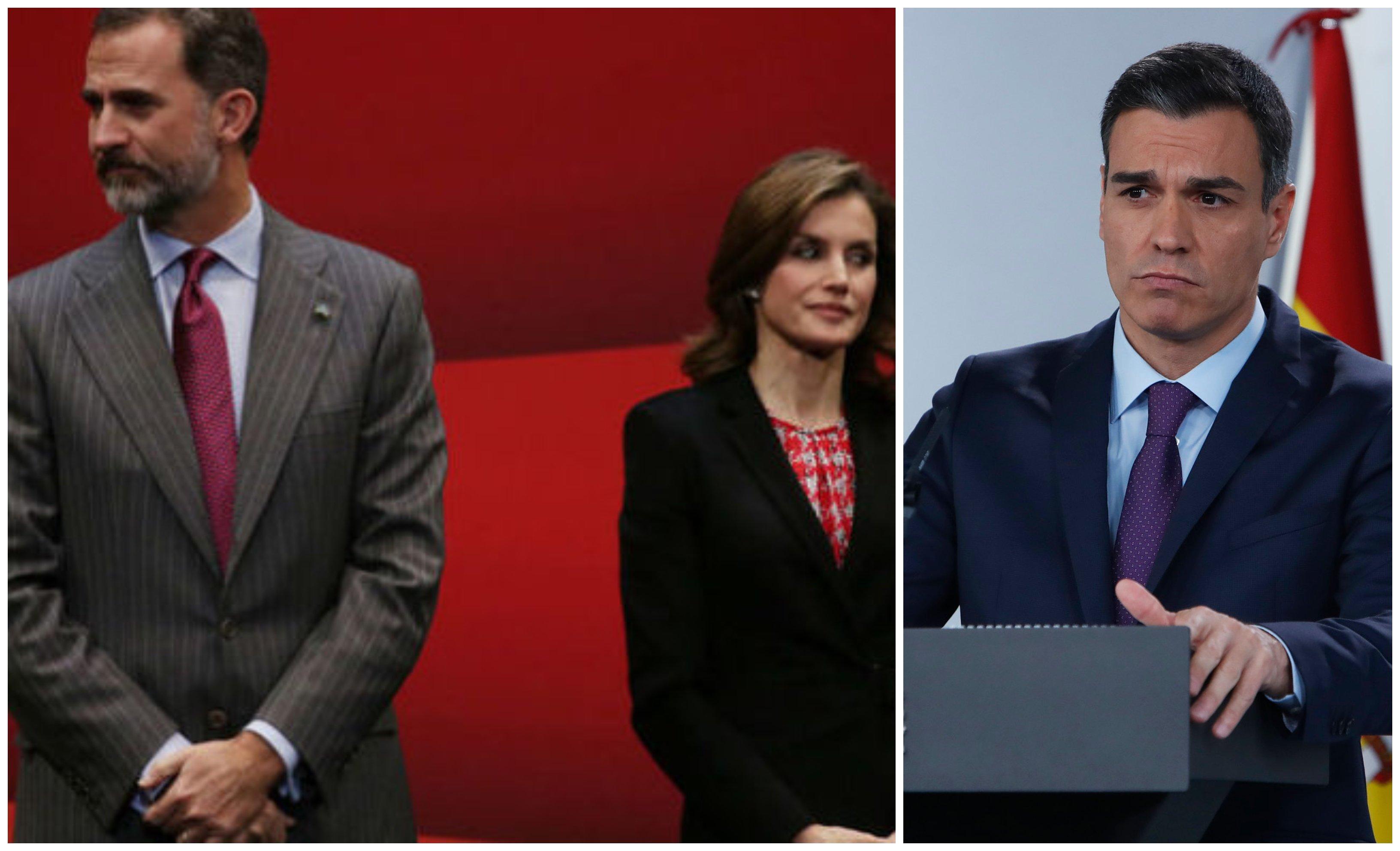 Mensaje de Nochebuena. Polémica en Zarzuela: Felipe VI quiere detener el Frente Popular de Sánchez mientras doña Letizia lo apoya