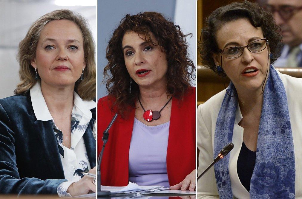 Calviño, Montero y Valerio, las caras económicas del Gabinete Sánchez