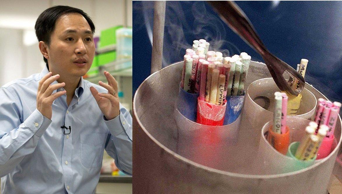 El científico chino condenado y embriones humanos congelados