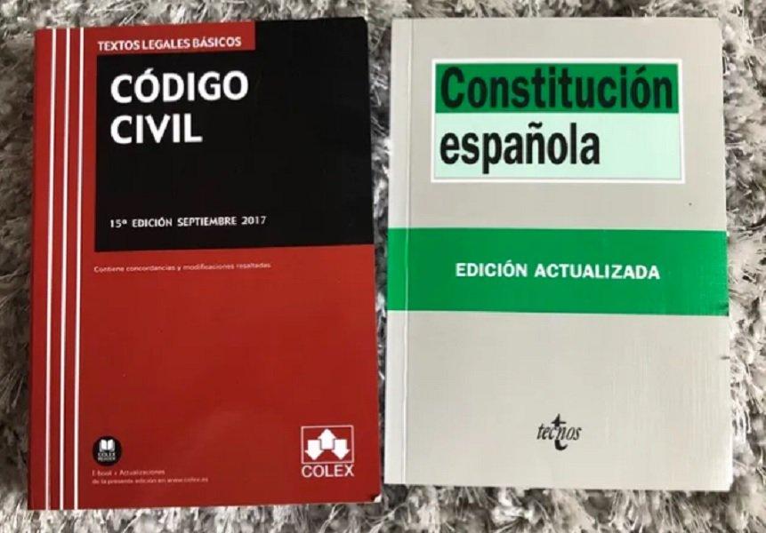 Código Civil y Constitución española
