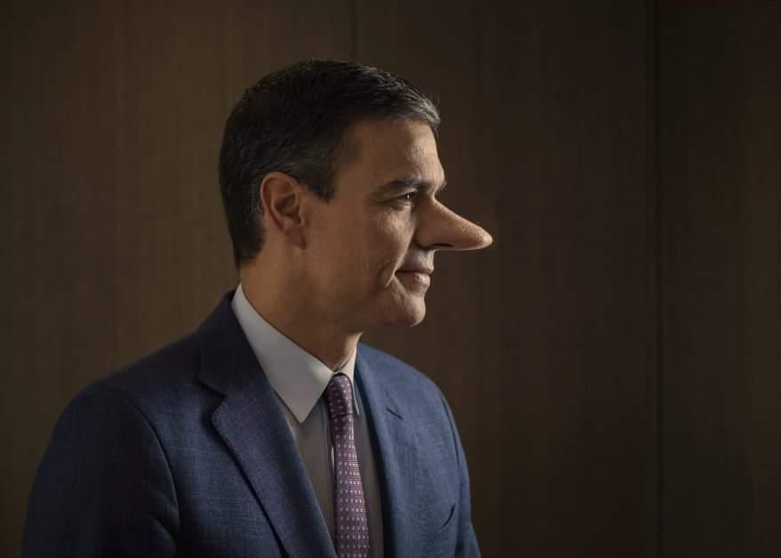Sánchez, el mentiroso