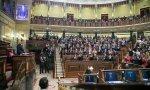 Sánchez, en el primer debate de investidura en el Congreso celebrado los días 4 y 5 de enero