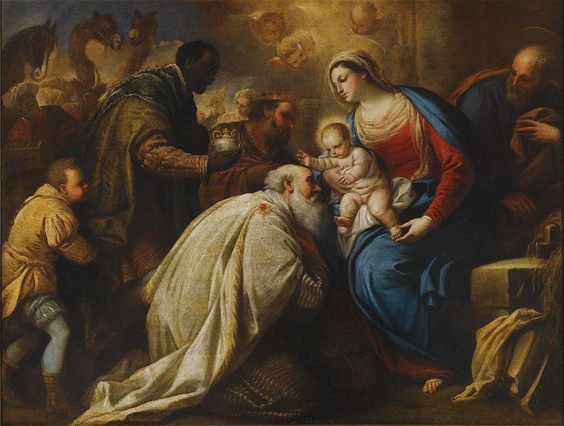Cuadro de 'La adoración de los Magos', de Luca Giordano