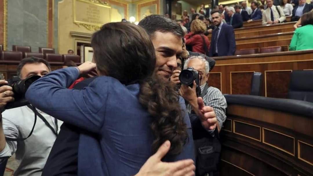 Podemos marca el camino al PSOE