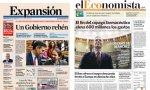 Portadas de 'Expansión' y de 'El Economista' de este miércoles 8 de enero de 2020