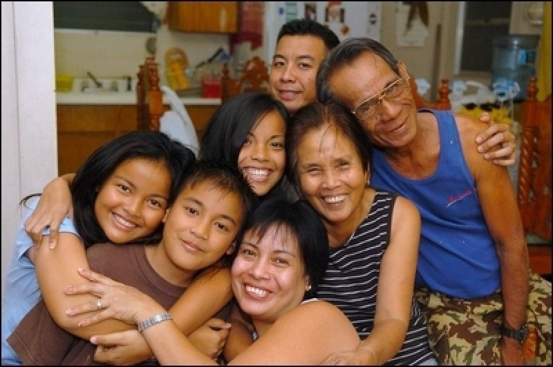 Familia filipina