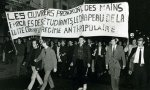 Protesta en el mayo del 68 francés