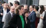 Teresa Ribera entrando al segundo debate de investidura el pasado 7 de enero: los Reyes Magos le han traído una vicepresidencia