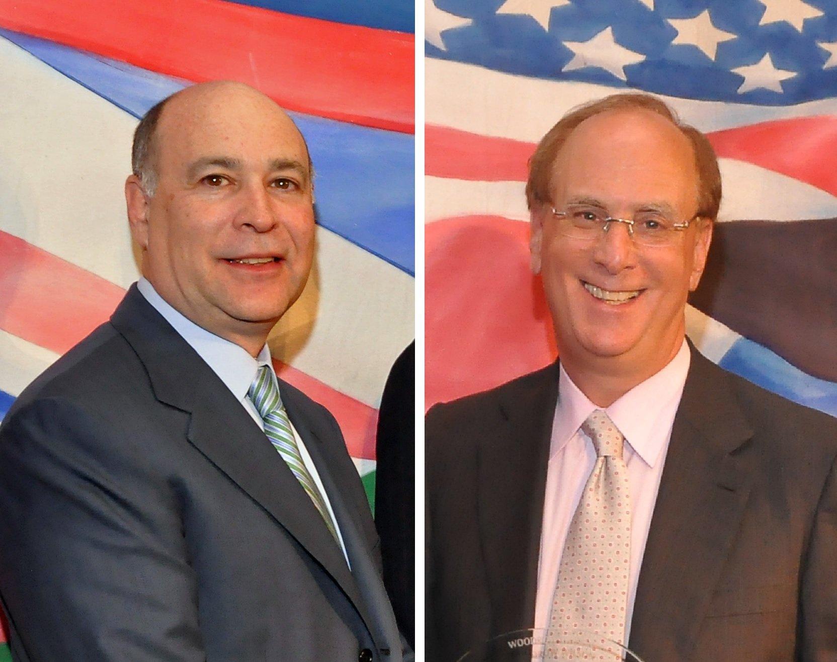 Robert Kapito y Laurence Fink dirigen el mayor fondo de inversión del mundo