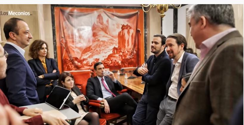 Podemos marca el camino al PSOE.