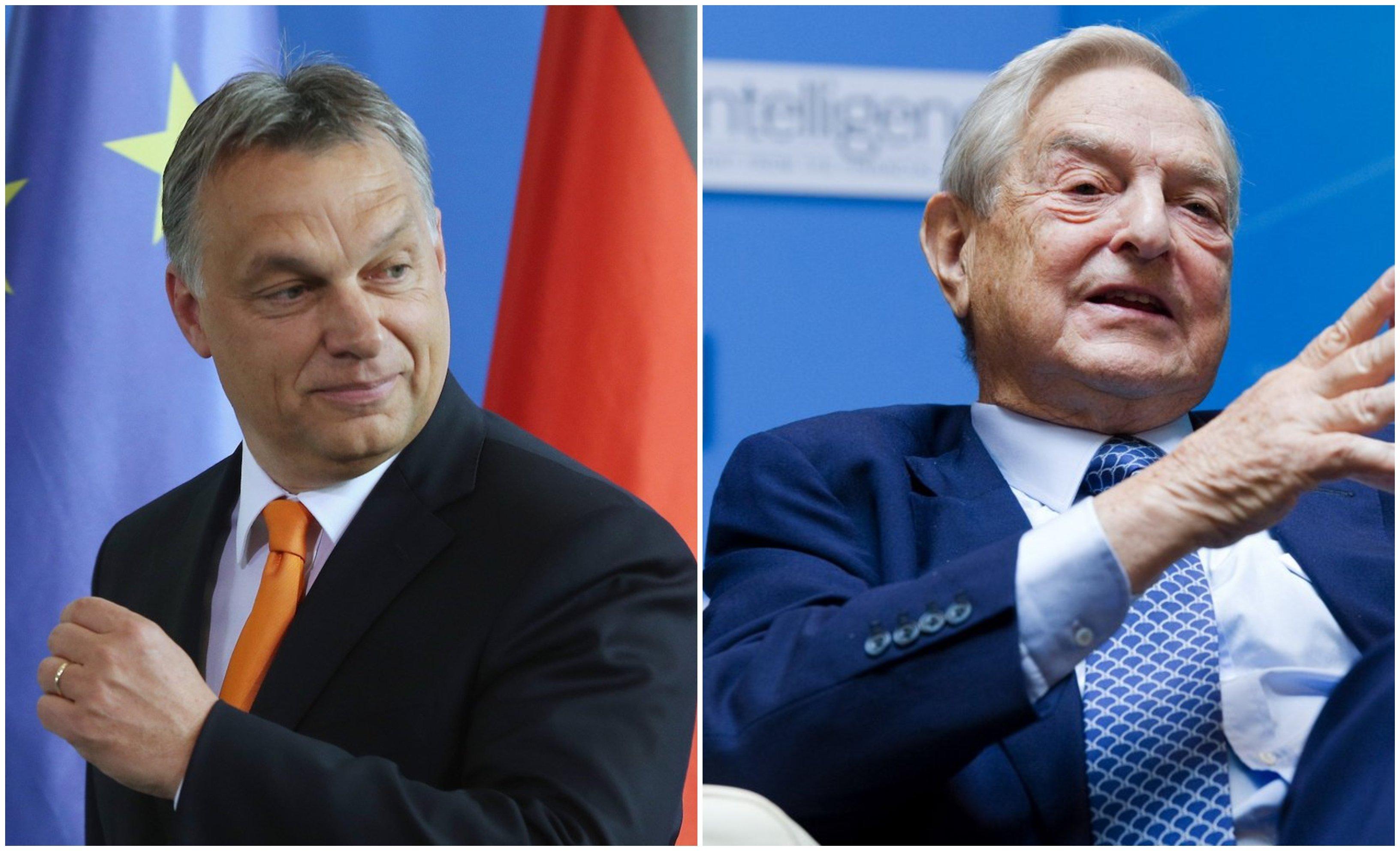 Orban y Soros