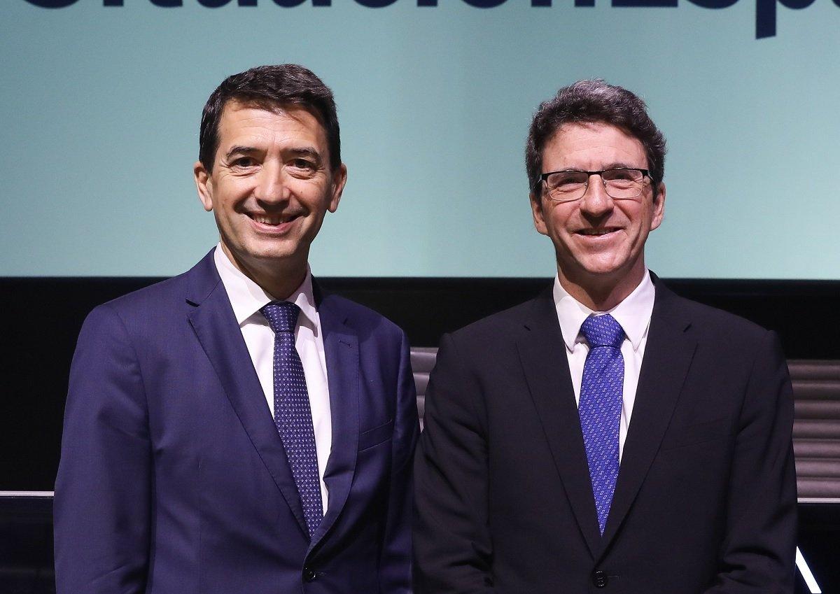 Jorge Sicilia, director de BBVA Research y economista jefe del Grupo BBVA, y Rafael Doménech, responsable de Análisis Económico