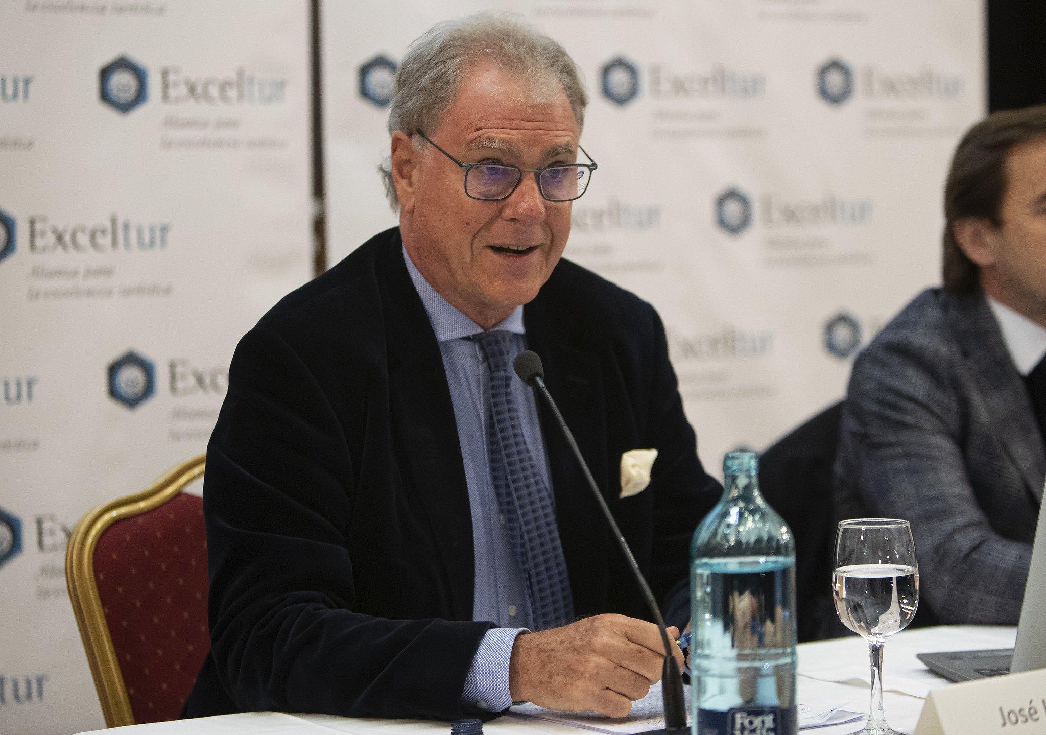El vicepresidente de Exceltur, José Luis Zoreda, respira tranquilo: el número de pisos turísticos disminuyó en 2019