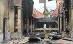 Incendio catedral Malabo