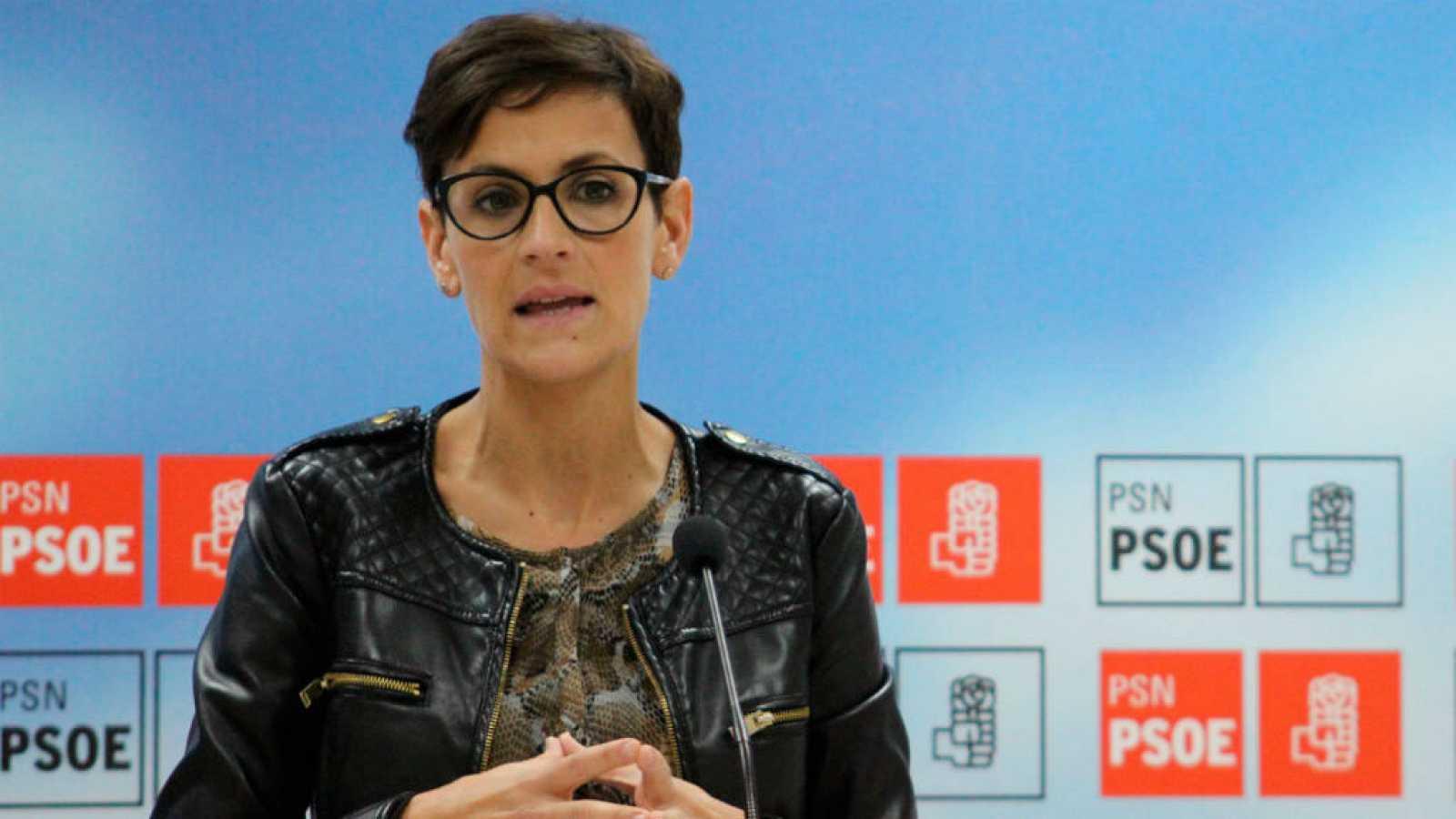 Así miente la presidenta de Navarra, María Chivite: sí dijo que la derecha vivía mejor con ETA