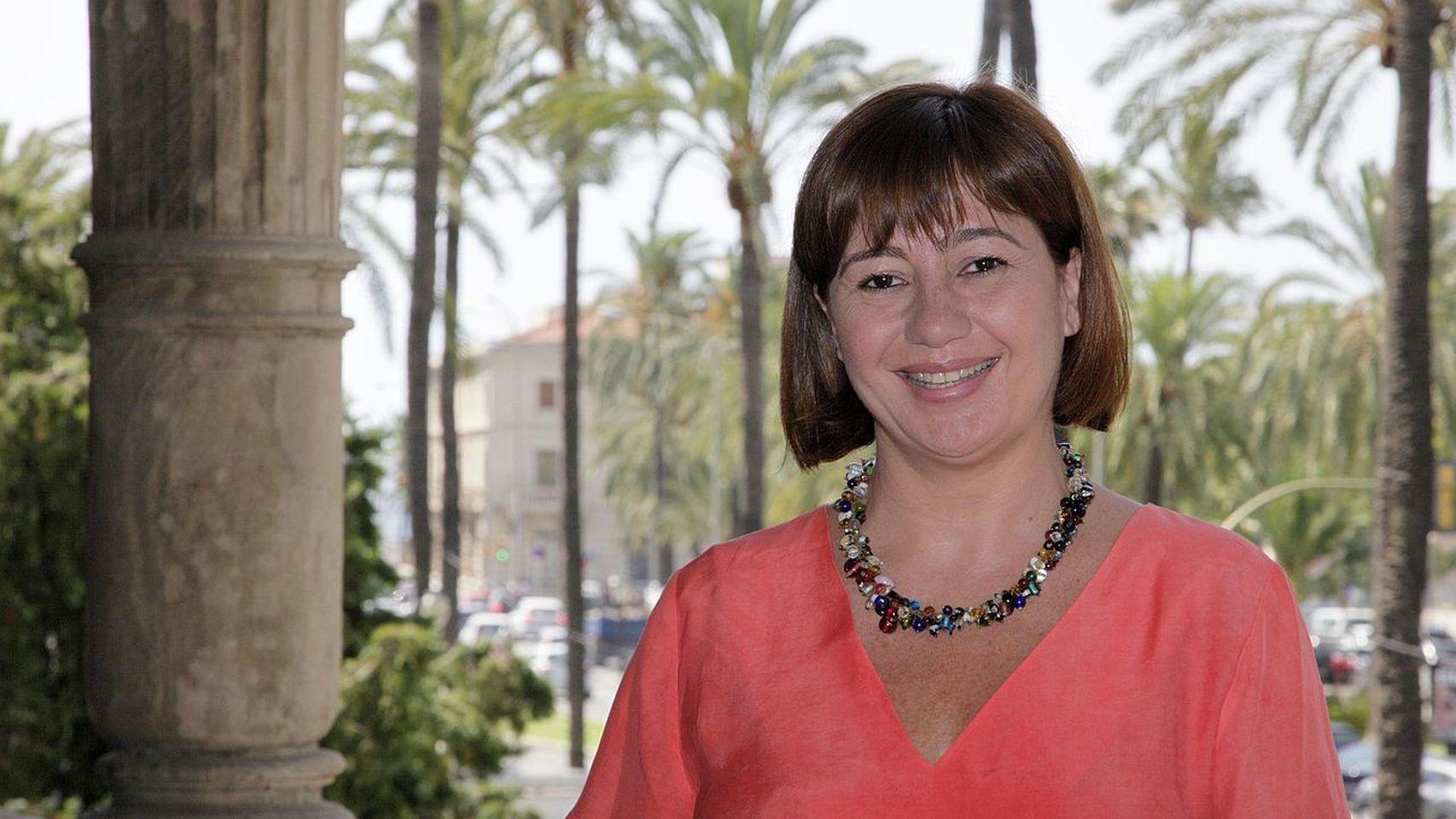 Francina Armengol, presidenta del Gobierno de las Islas Baleares