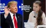 """Davos. Greta denuncia que """"no se ha hecho nada"""" contra el calentamiento global mientras Trump inyecta optimismo entre los asistentes"""