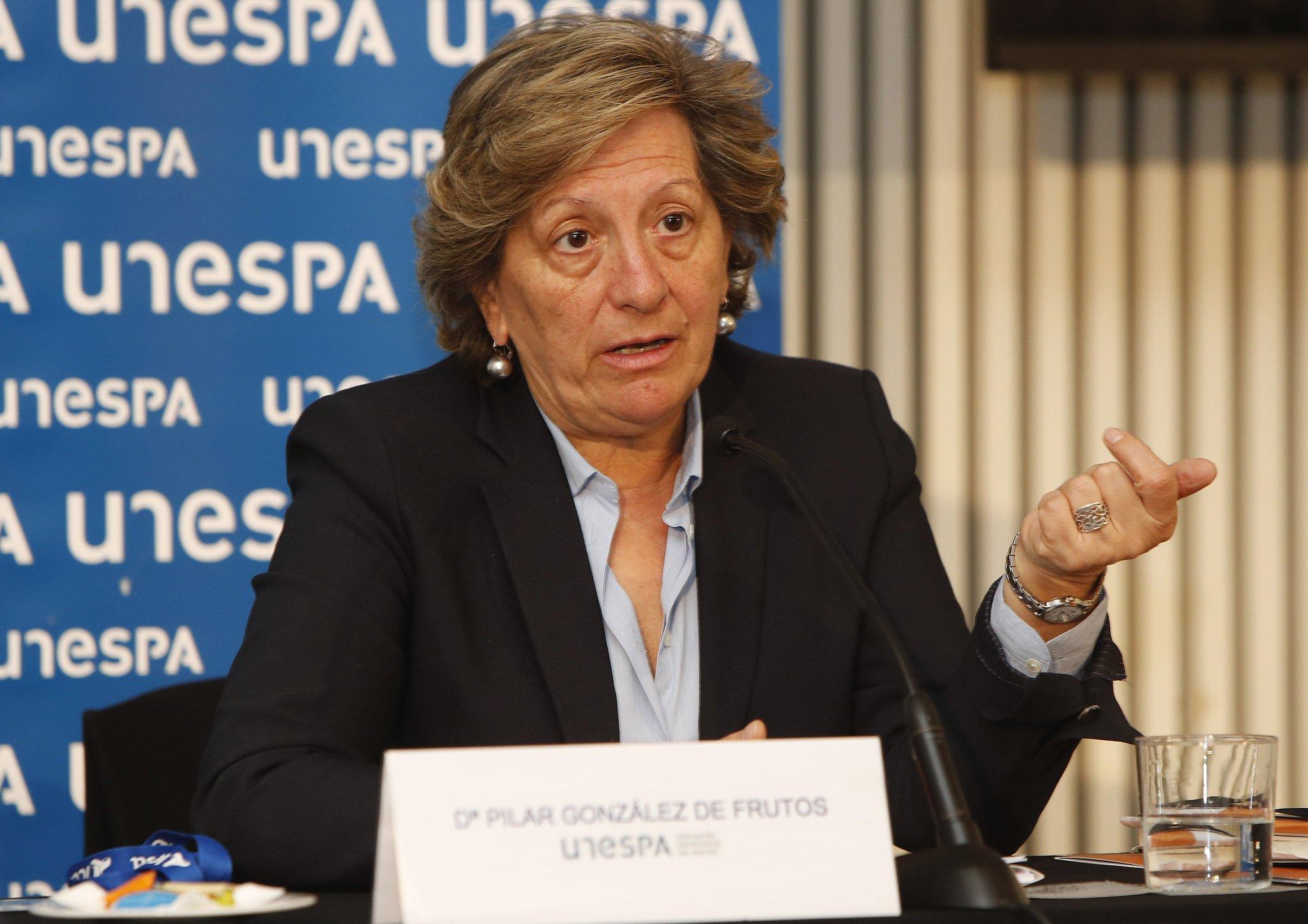 """La presidenta de Unespa, Pilar González de Frutos, califica 2019 de ejercicio """"prácticamente plano"""""""