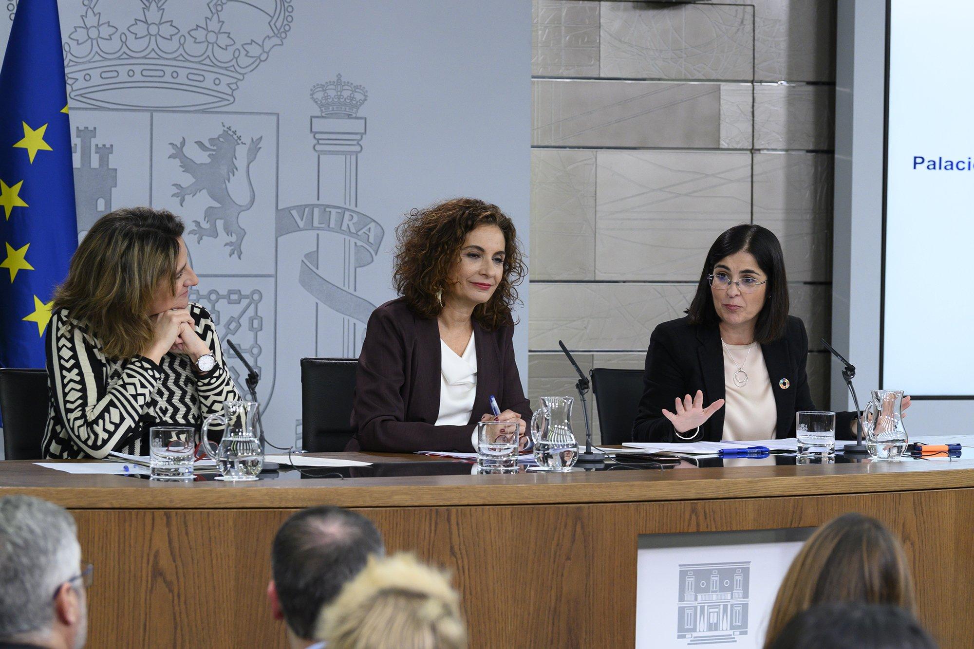 """Consejo de Ministros. María Jesús Montero quiere """"Sumar cuanto más mejor a este camino de progreso"""""""