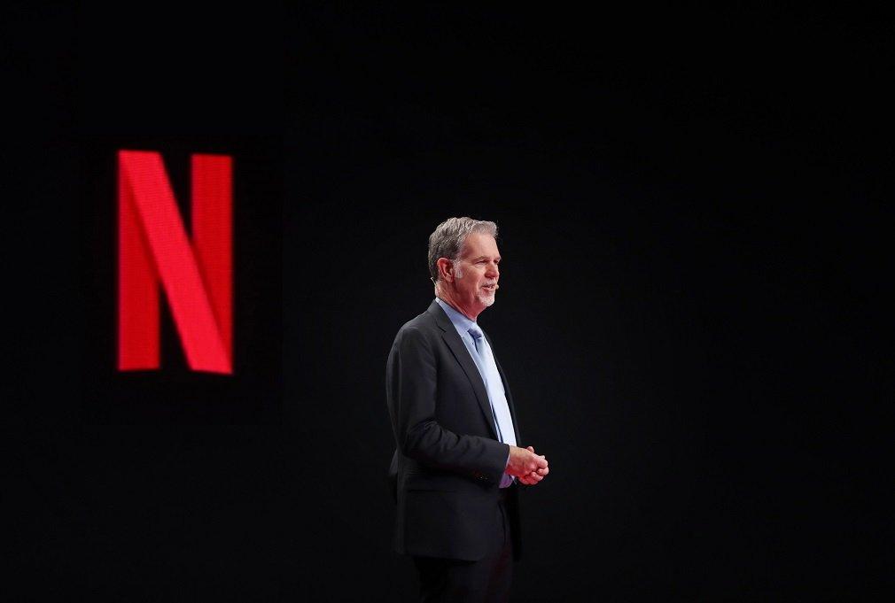Reed Hastings, CEO y cofundador de Netflix