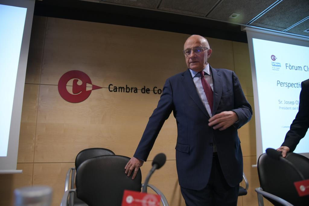 Sabadell. La última carta de Oliu: comer o ser comido