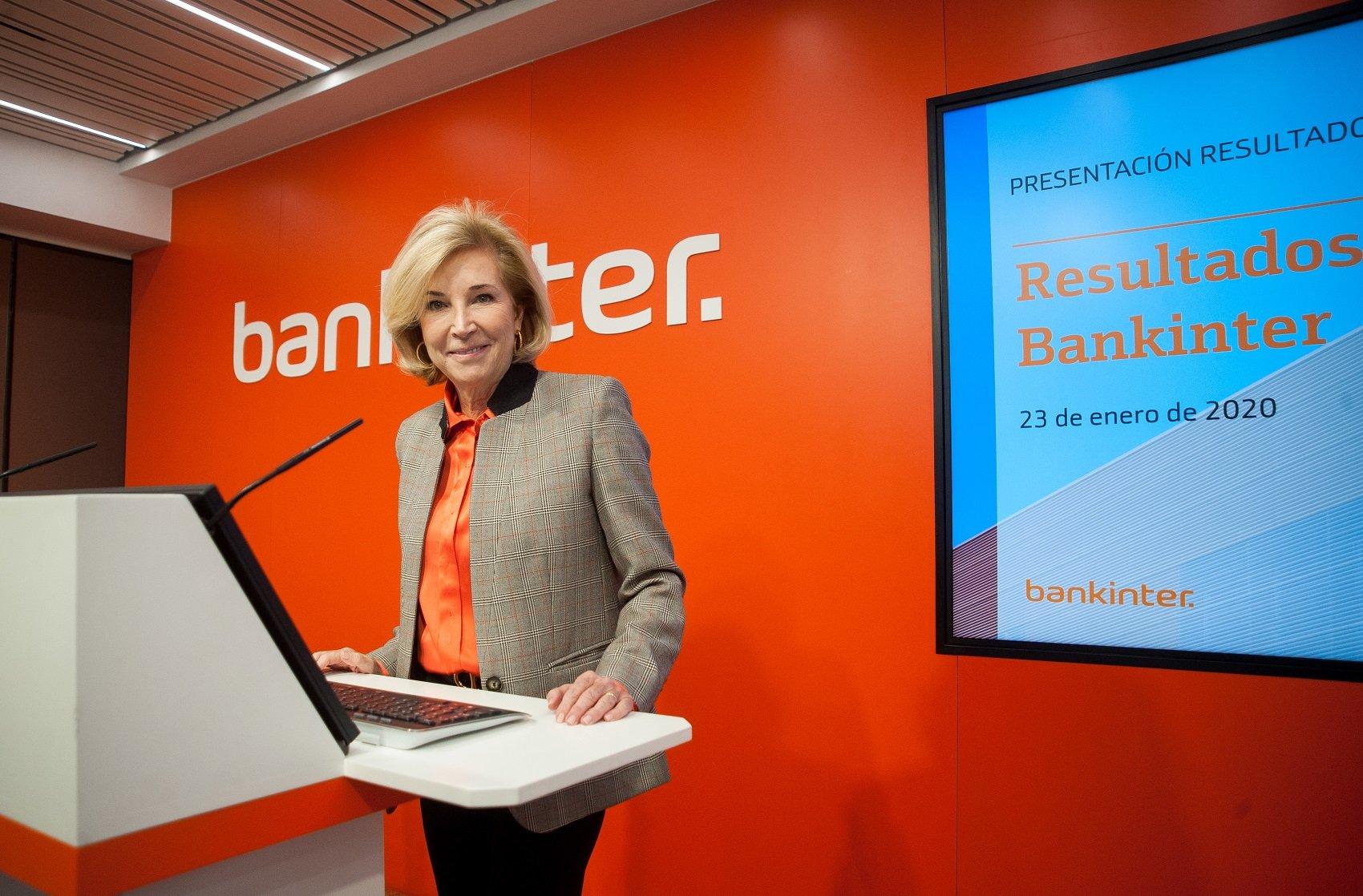 María Dolores Dancausa, CEO de Bankinter, está inquieta por el nuevo Gobierno de Pedro y Pablo
