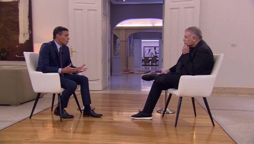 Antonio Ferreras entrevista a Pedro Sánchez