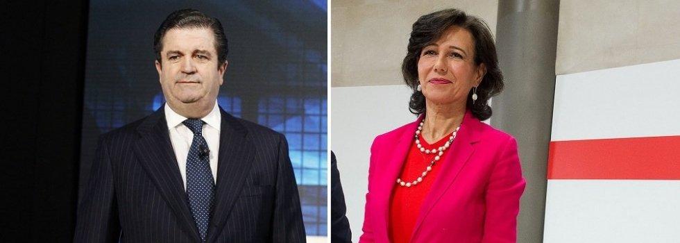Borja Prado y Ana Botín son los representantes de las dos partes implicadas