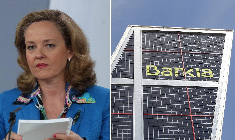 Nadia Calviño sabe que no cerrará el rescate bancario hasta que no privatice Bankia
