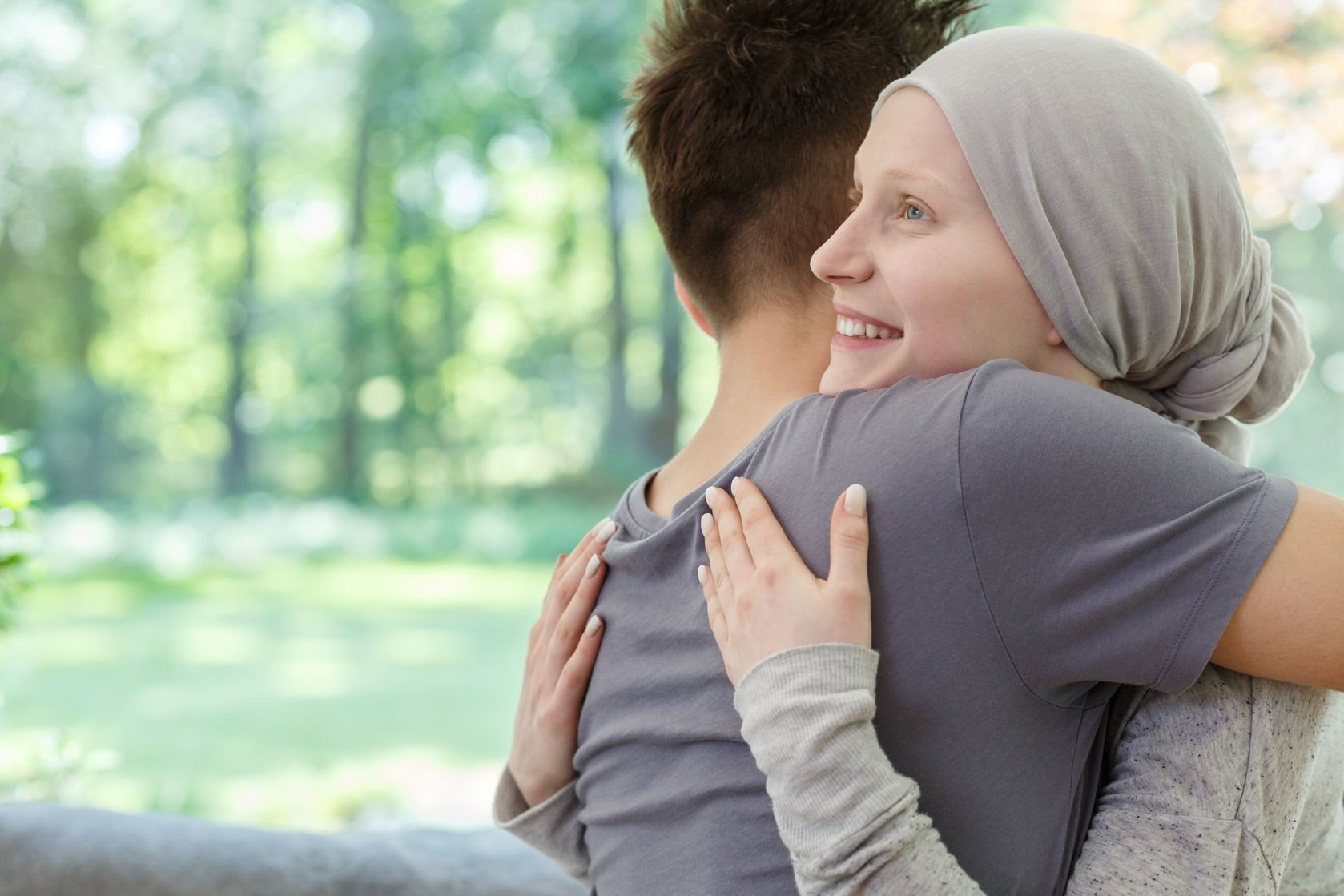 La familia es el principal apoyo de un paciente de cáncer
