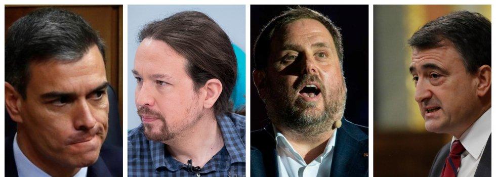 El nuevo objetivo de Sánchez: un gobierno PSOE-Podemos-ERC-PNV