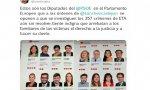 Éxito del tweet de Rosa Diez sobre los eurodiputados socialistas que se niegan a investigar 357 crímenes de ETA aún sin resolver