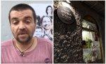 El director de Bienestar Animal, Sergio García y su local 'Pura Vida Vegan'