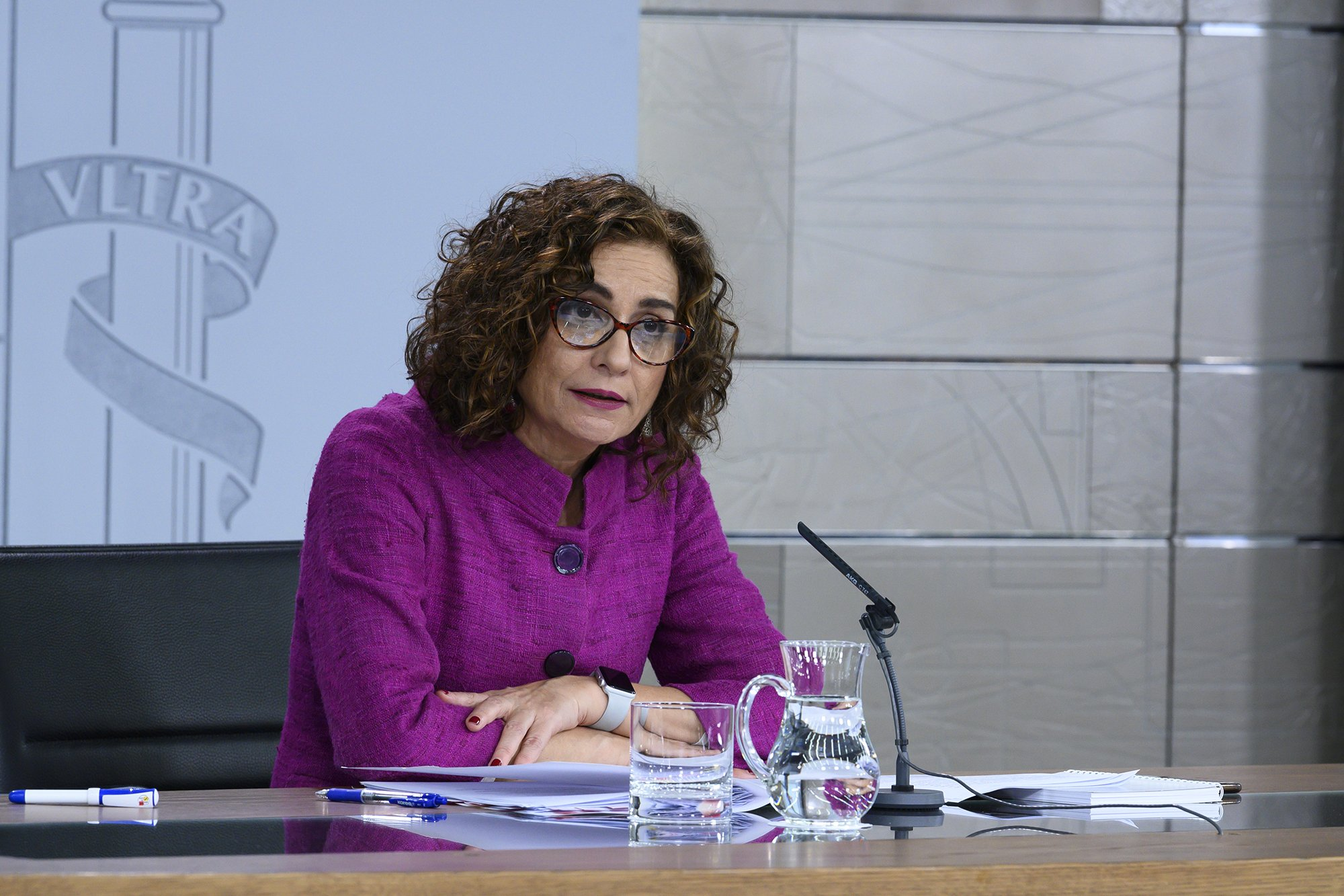 María Jesús Montero, portavoz del Gobierno