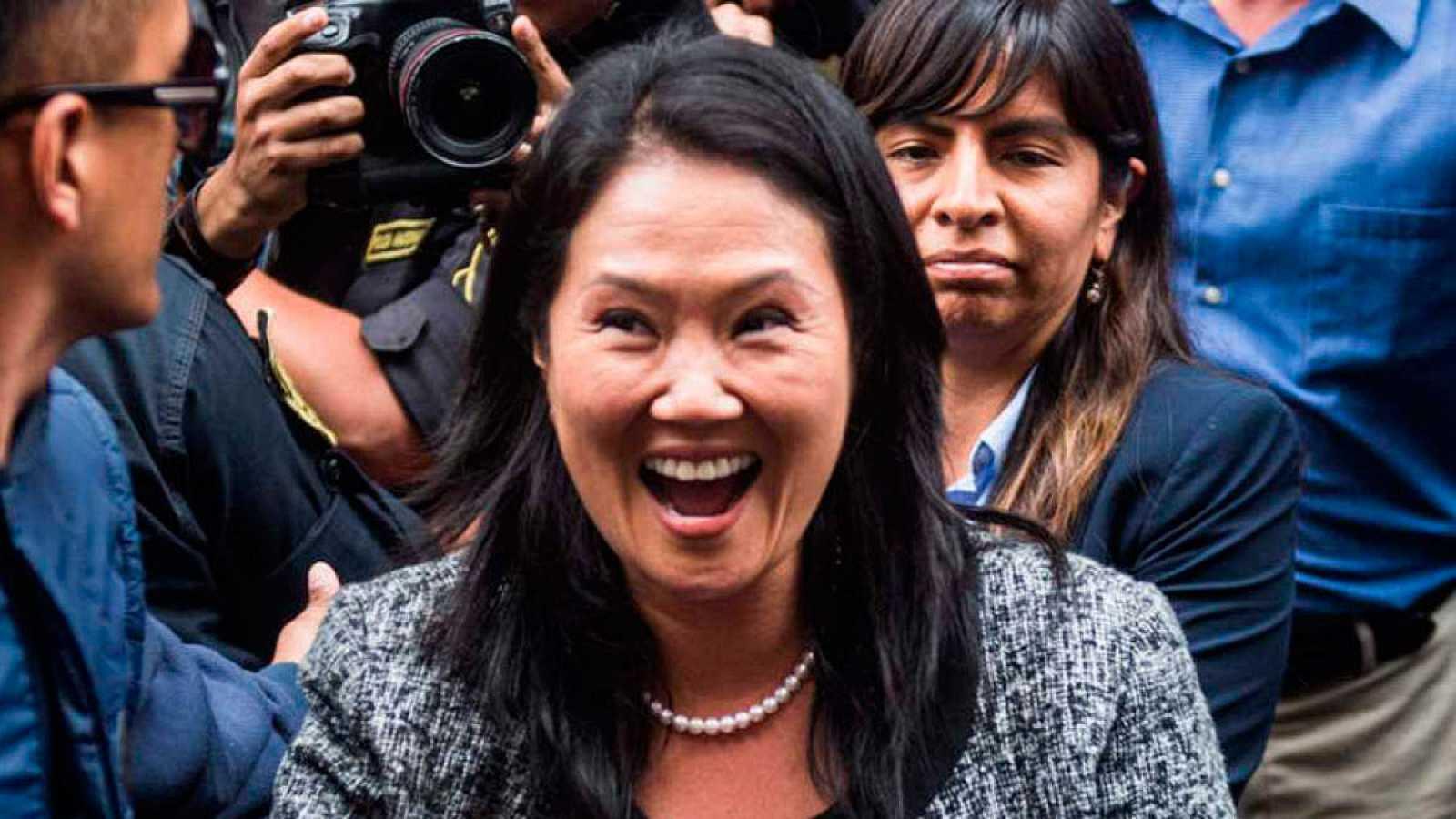 Perú: la opositora Keiko Fujimori vuelve a prisión durante 15 meses, mientras la investigan por presunto lavado de dinero
